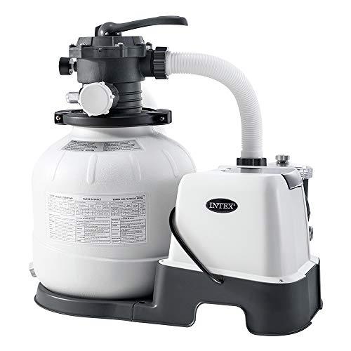 Intex – 230 V Sandfilterpumpe & Saltwater...