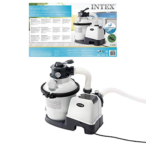 Intex 1200 GPH Sand Filter Pump W/RCD...