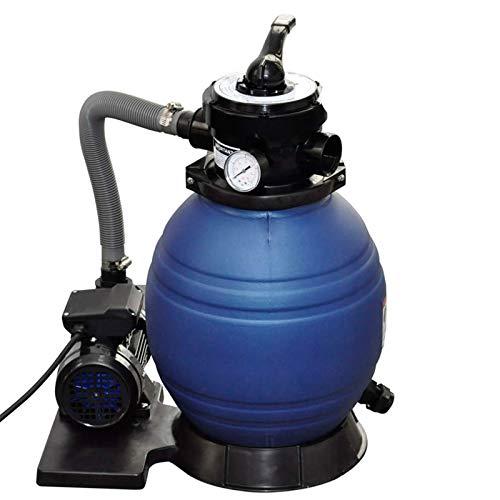 vidaXL Sandfilteranlage mit Pumpe 400W...