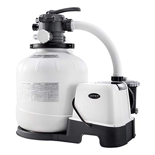 Intex – 230 V Sandfilter Pumpe & Saltwater...