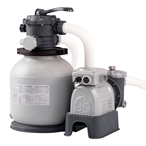 Intex Krystal Clear Sand Filter Pump -...