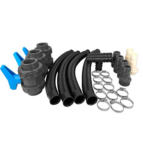 well2wellness® Easy Pool Bypass Set ohne...