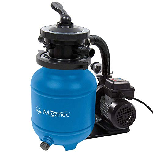 Miganeo® Speed Clean 7000 Sandfilter mit...