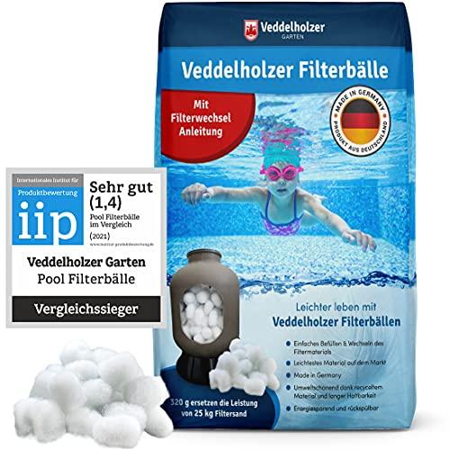 Veddelholzer Pool Filterbälle leichtestes...