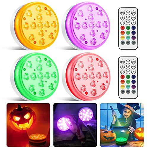 Moxled Halloween Deko Lichterkette, 13 LED...