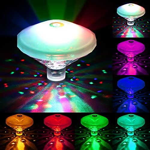 Danolt Pool LED Unterwasser LED, RGB...